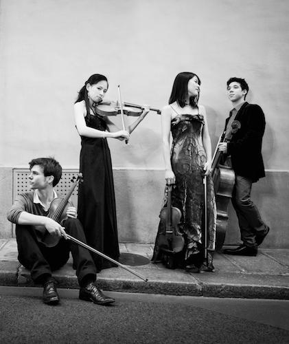 photo Quatuor Hermès