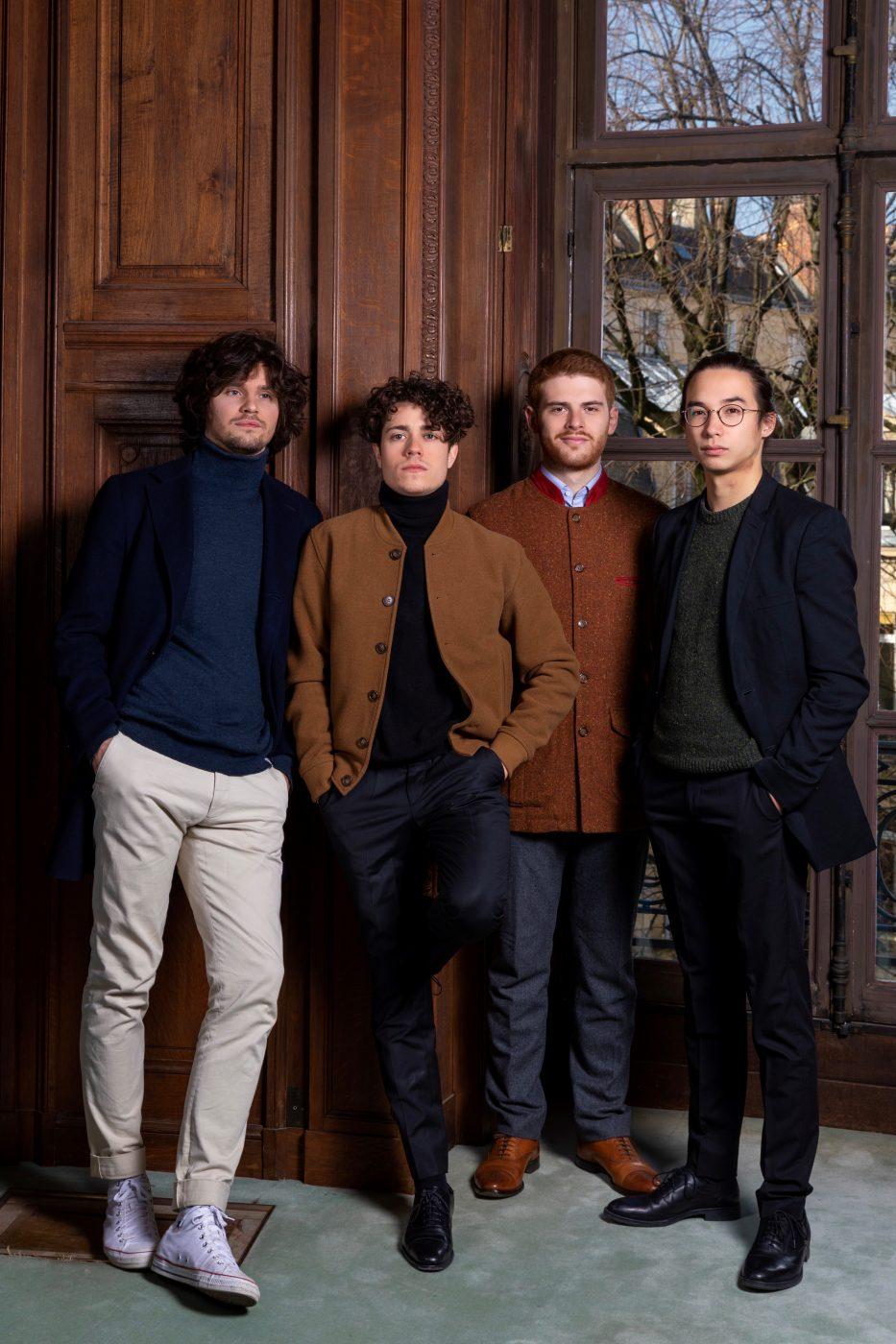 photo Quatuor Elmire